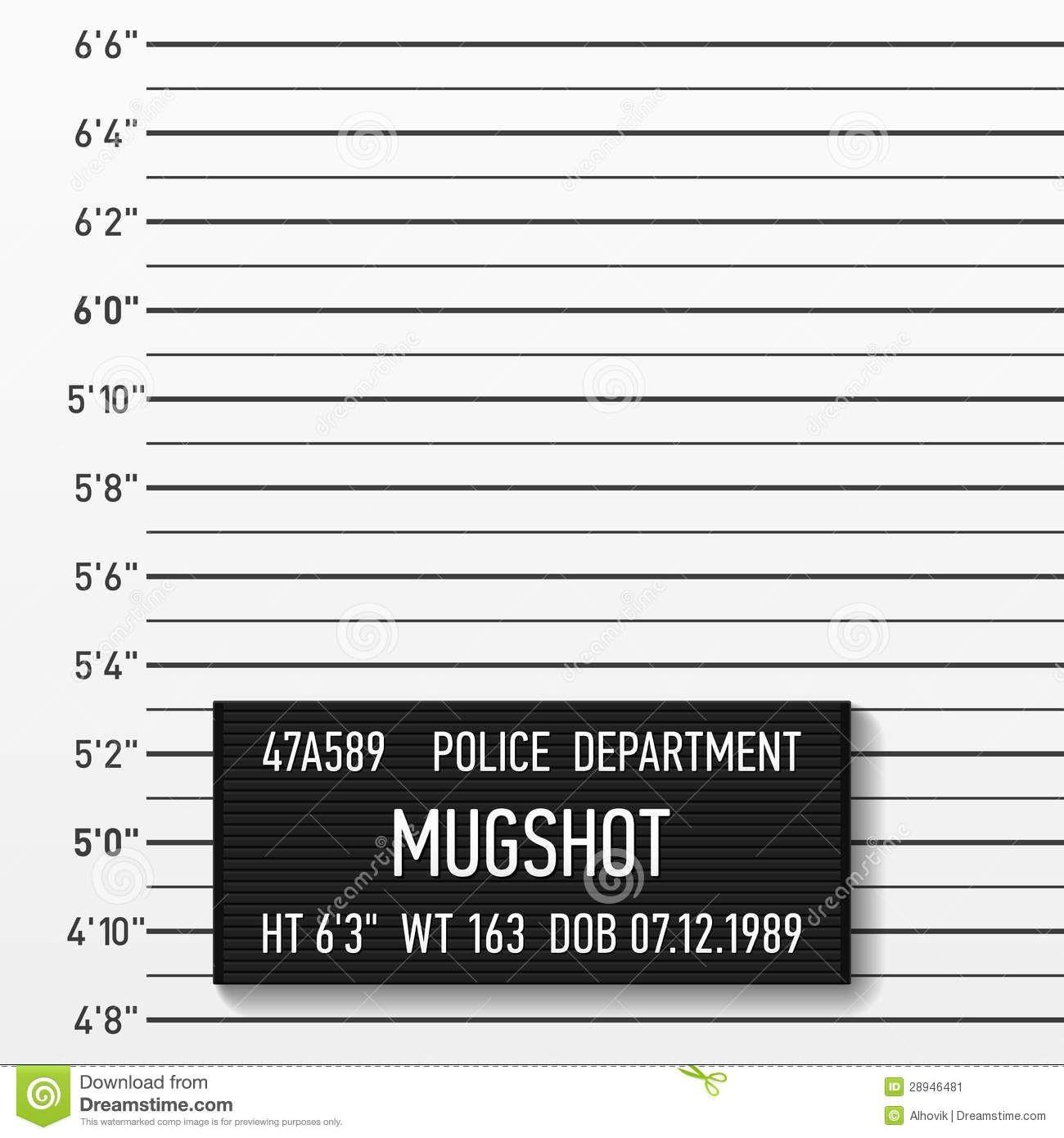Police Mugshot Stock Image | Pup Backdrops | Mug Shots, Villains - Printable Mugshot Sign Free
