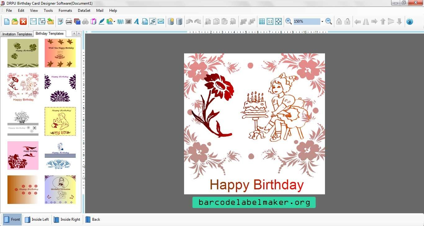 Popular Program Designs Printable Cards Downloads - Free Card Creator Printable