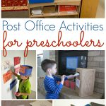 Post Office And Mailing Activities For Preschool   Pre K Pages   Post Office Dramatic Play Free Printables