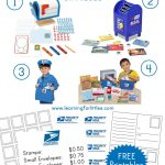 Post Office Gifts & Printables | Prek Dramatic Play | Pretend Play   Post Office Dramatic Play Free Printables