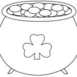Pot+Of+Gold+Printable | Pot Of Gold   Coloring Pages | Saint   Free Printable Pot Of Gold Coloring Pages