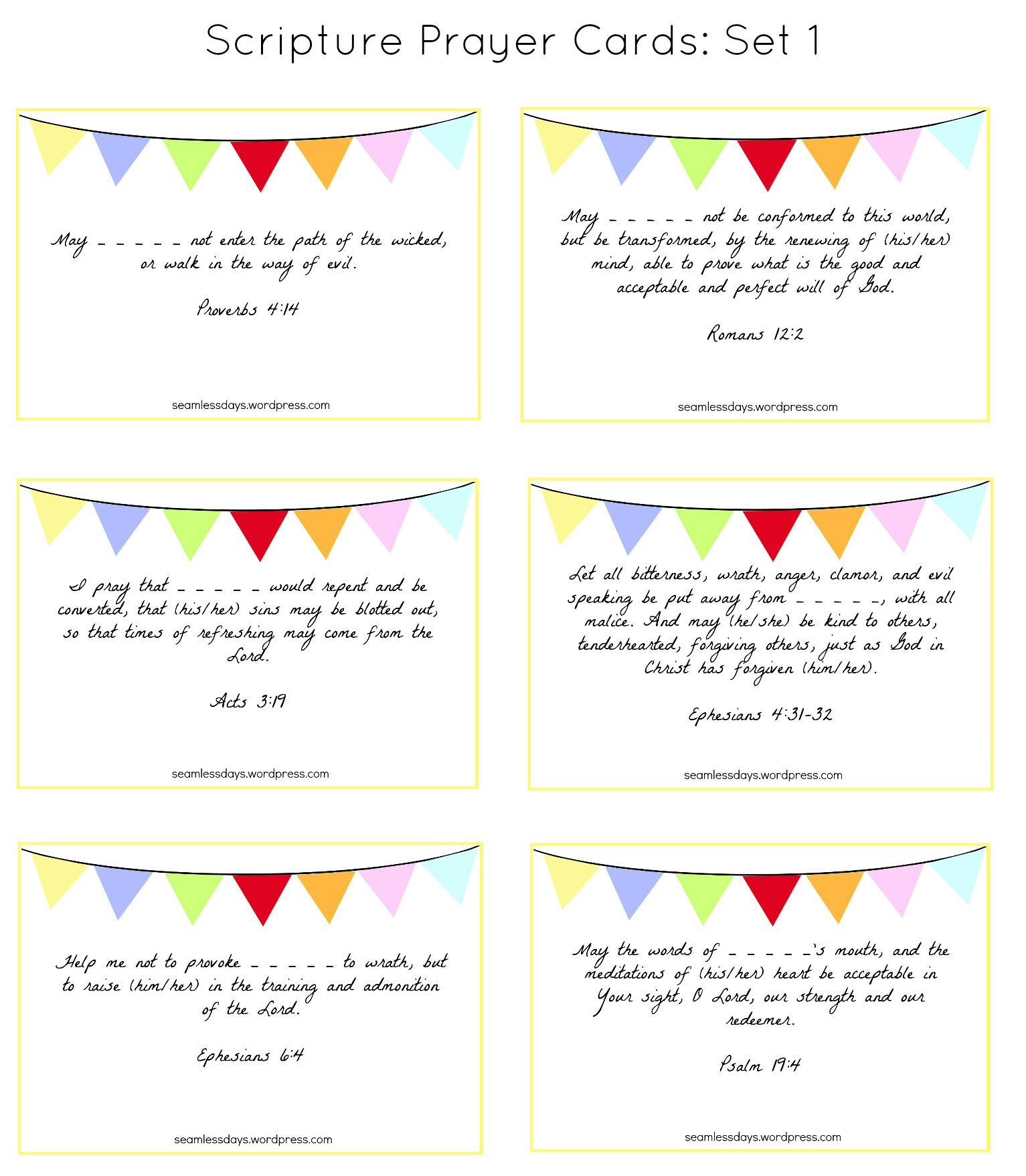 Praying For Your Children: A Free Printable | Prayer Ideas | Dios - Free Printable Prayer Cards For Children