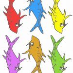 Pre K Tweets: Free Printable Dr. Suess Fish! | Ymca Activities | Dr   Free Printable Dr Seuss Characters