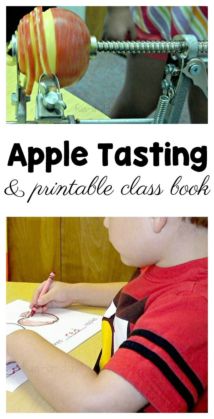 Preschool 5 Senses Apple Activity And Free Printable Class Book - Free Printable Pre Employment Tests