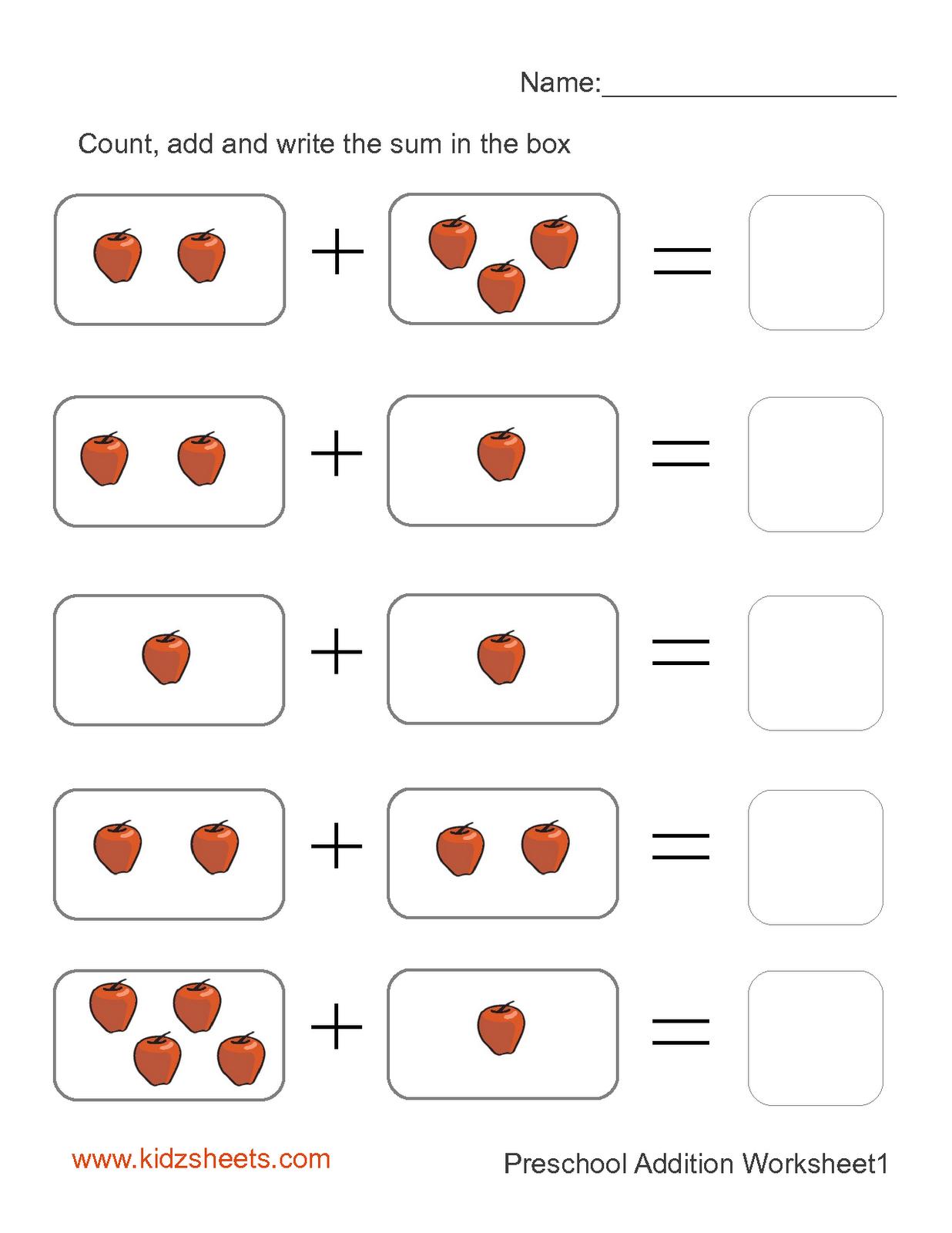 Preschool Printables | Printable Preschool Worksheets,free - Free Printable Pre K Activities