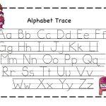 Preschool Printables: Valentine | February Ideas | Alphabet Tracing   Free Printable Preschool Worksheets Tracing Letters