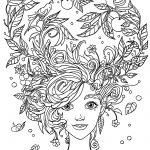 Pretty Coloring Pages For Adults Free Printable | People Coloring   Free Printable Coloring Cards For Adults
