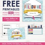 Primary 2019 Come Follow Me  Free Printables | Primary | Primary   Free Printable Music Posters