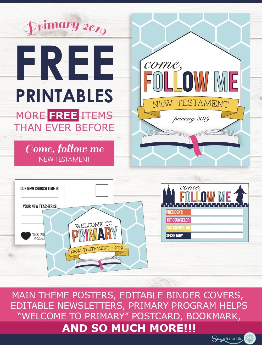 Primary 2019-Come Follow Me- Free Printables | Primary | Primary - Free Printable Music Posters