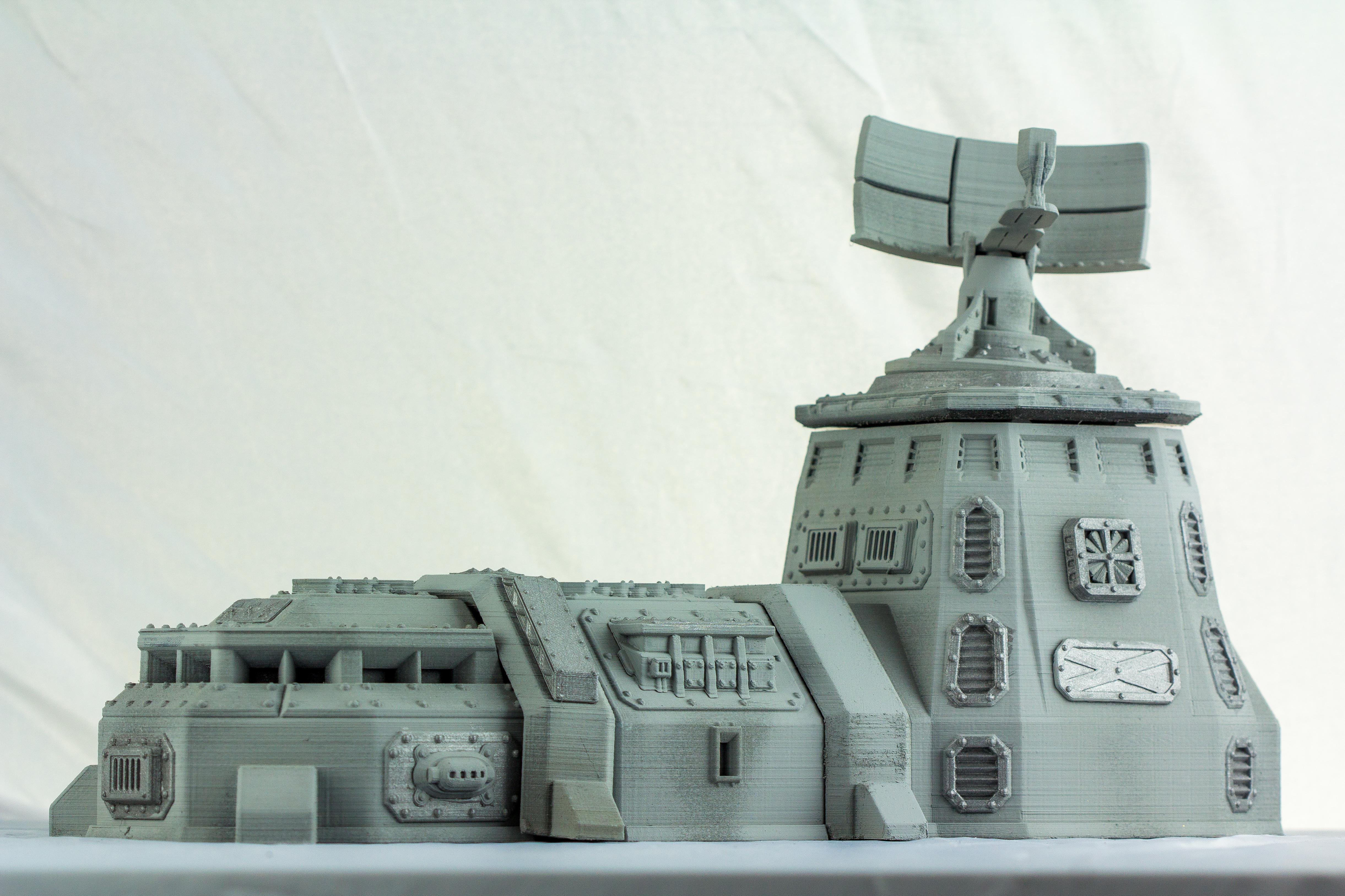 Printable 3D Terrain For War Games » Maker Fun 3D - 3D Printing And - Free 3D Printable Terrain
