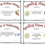 Printable Awards   Free Printable Student Award Certificate Template
