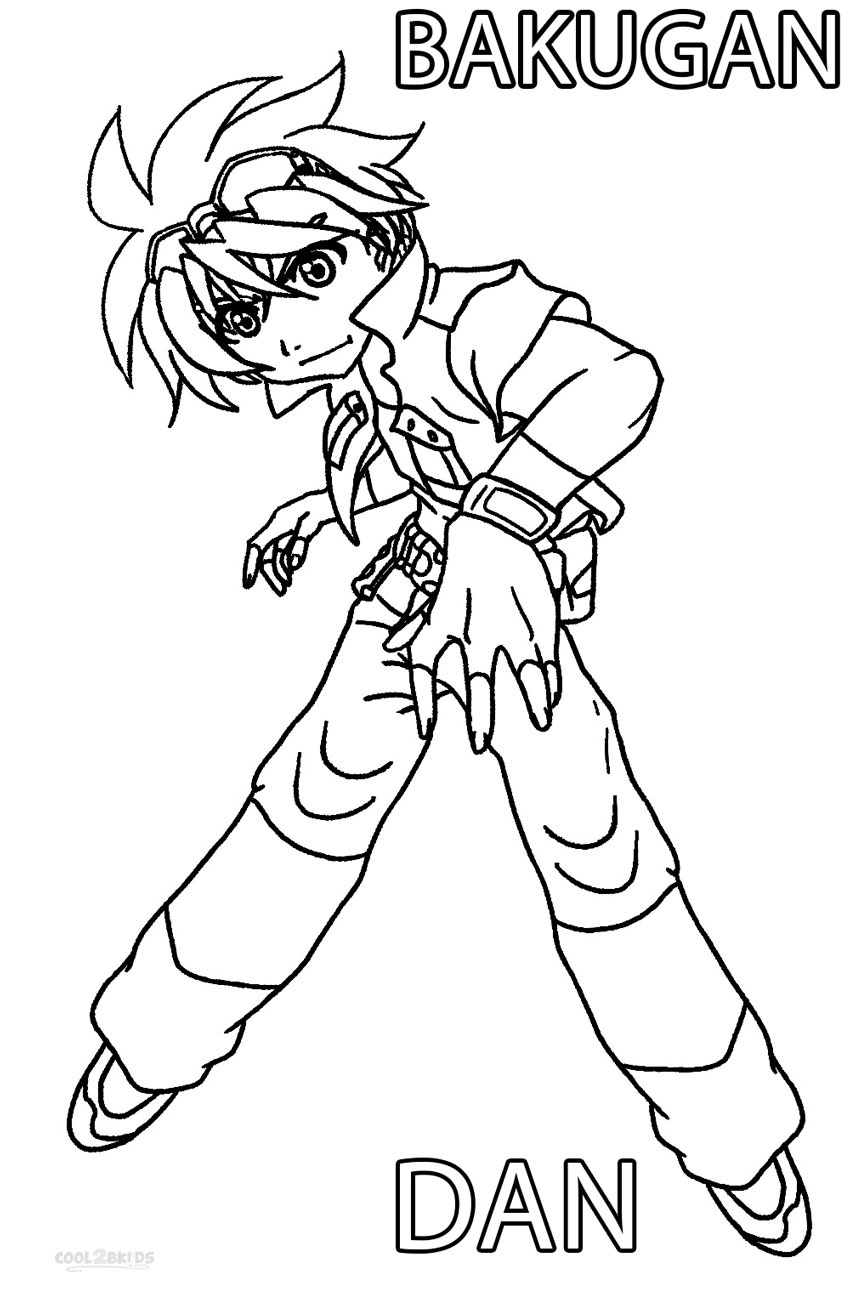 Printable Bakugan Coloring Pages For Kids   Cool2Bkids - Printable Bakugan Coloring Pages Free