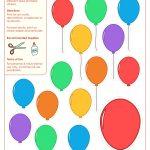 Printable Balloon Template | Birthday Printables   Free Printable Pictures Of Balloons