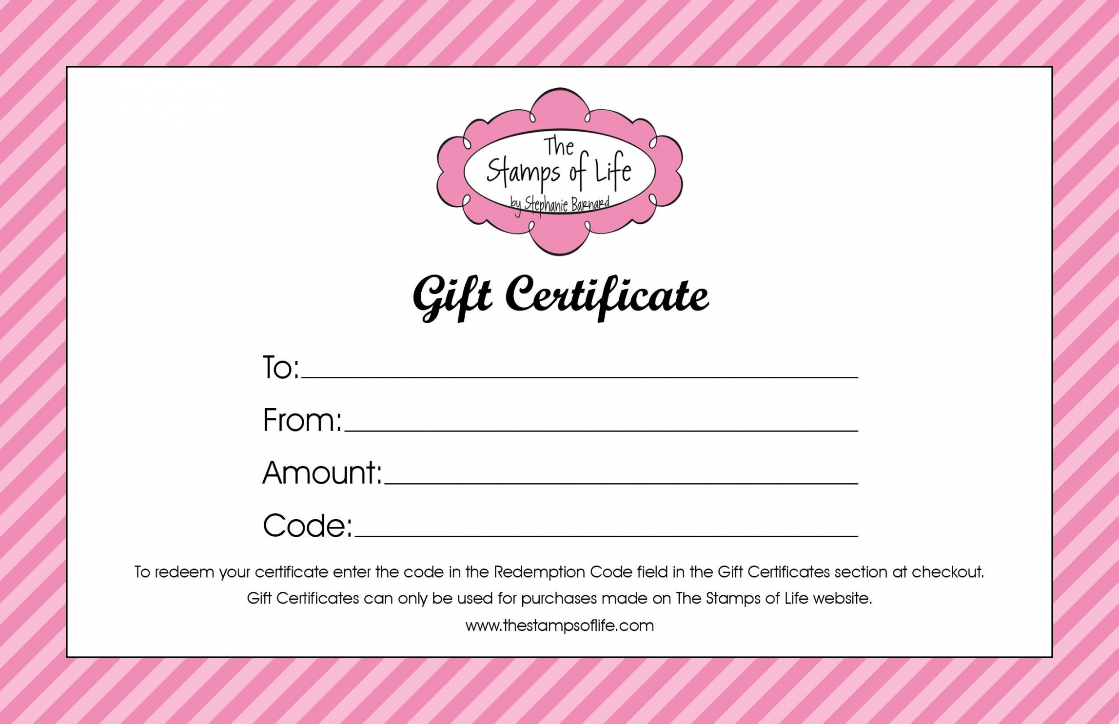Printable Beauty Salon Gift Certificate Template Free Templates Hair - Free Printable Gift Certificates For Hair Salon