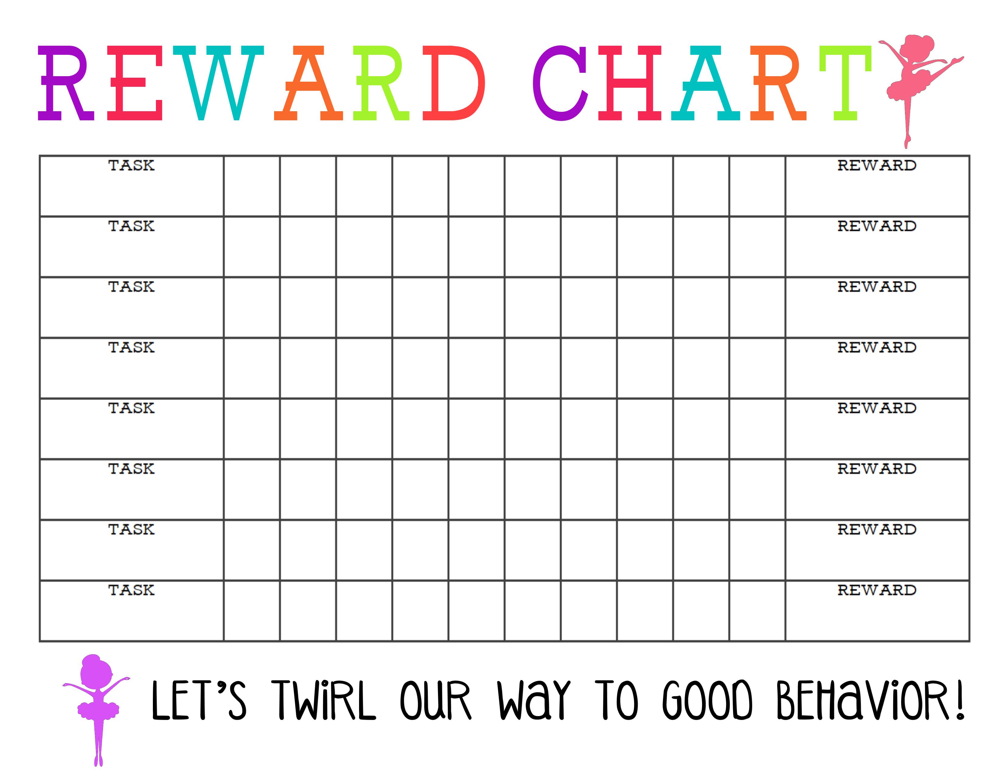 Printable Behavior Chart - Kaza.psstech.co - Free Printable Behaviour Charts For Home
