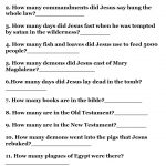 Printable Bible Quizzes   Free Printable Bible Trivia For Adults