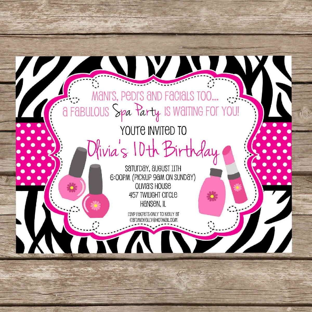 Printable Birthday Invitations For Girls | Free Printable Birthday - Free Printable Birthday Invitations For Girl
