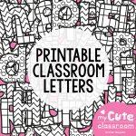 Printable Bulletin Board Letters – Prntbl   Free Printable Bulletin Board Letters