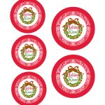 Printable Candy Jar Labels For The Holidays   The Graphics Fairy   Free Printable Jar Labels Christmas