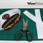Printable Captain Hat Templatewowprintables   Download Now!   Free Printable Pilot Hat Template