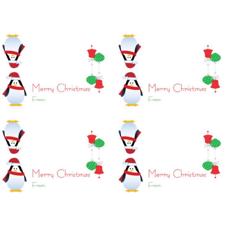 Free Printable Christmas Bag Toppers Templates