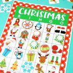 Printable Christmas Bingo Game   Happiness Is Homemade   Valentine Bingo Game Printable Free