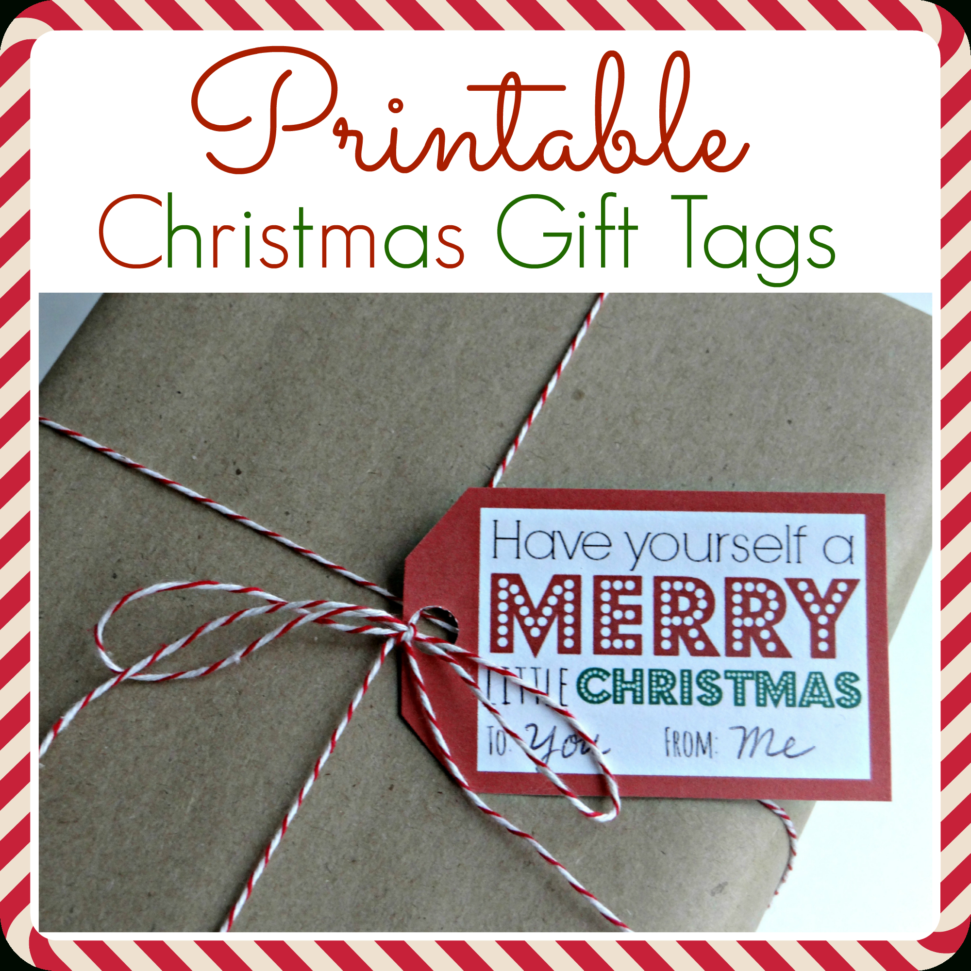 Printable Christmas Gift Tags - Free Printable Gift Tags Personalized