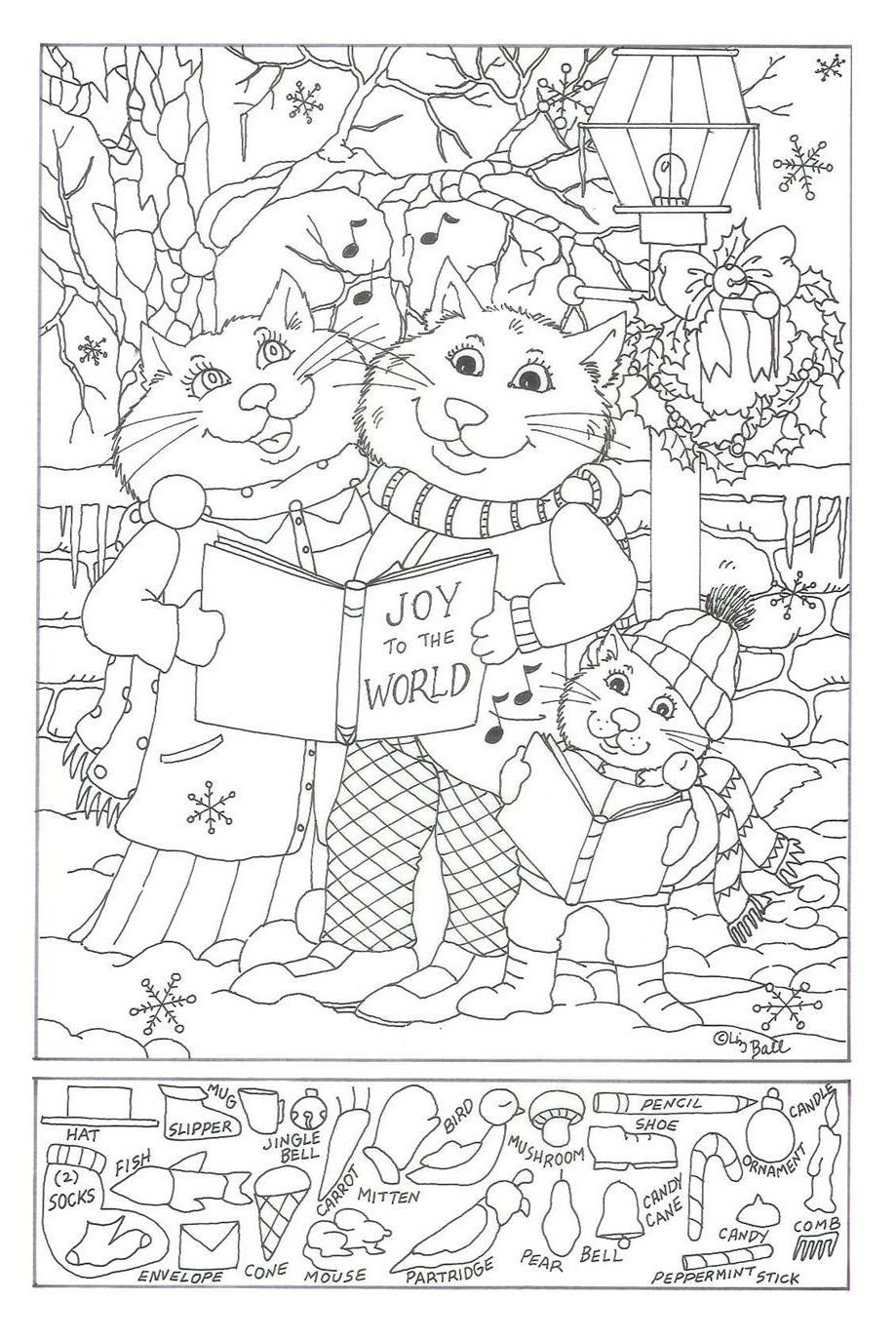 Printable Christmas Hidden Object Pictures – Festival Collections - Free Printable Christmas Hidden Picture Games