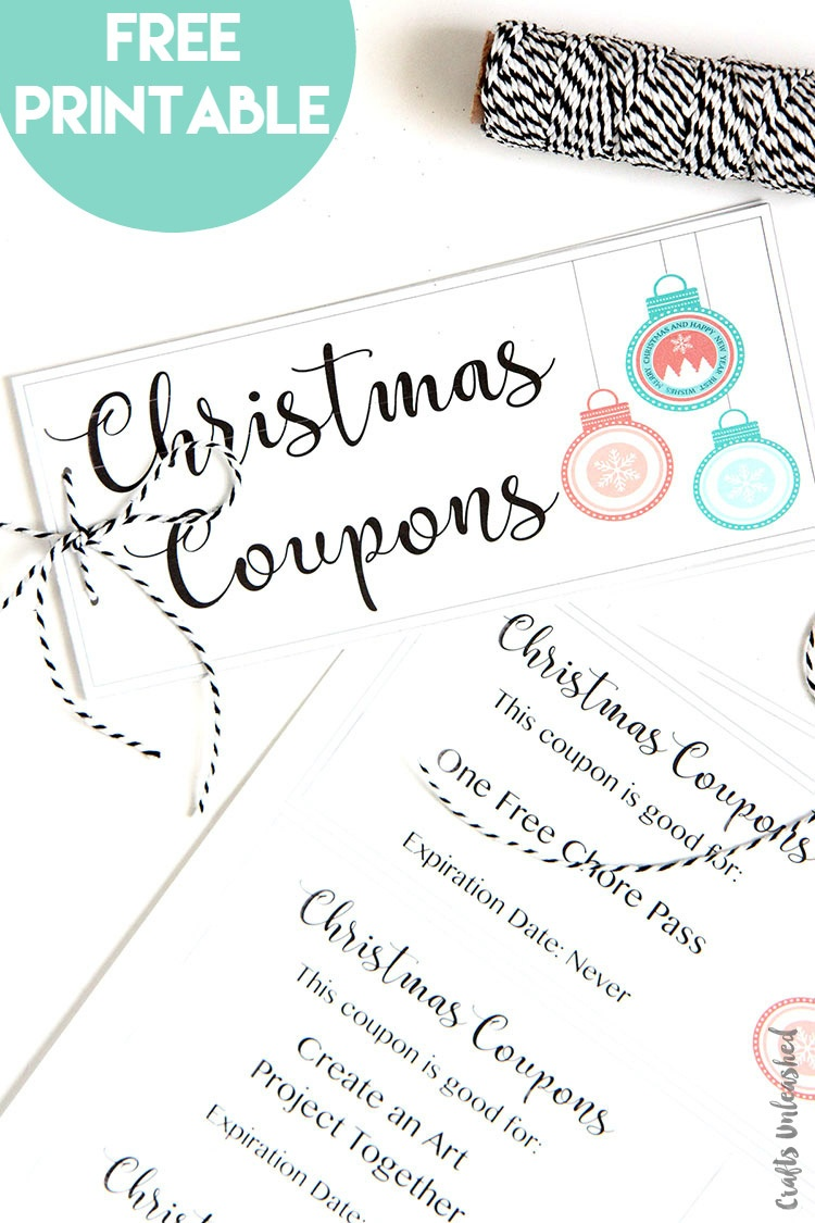 Printable Coupon Book Diy Gift Idea: Consumer Crafts - Make Your Own Printable Coupons For Free