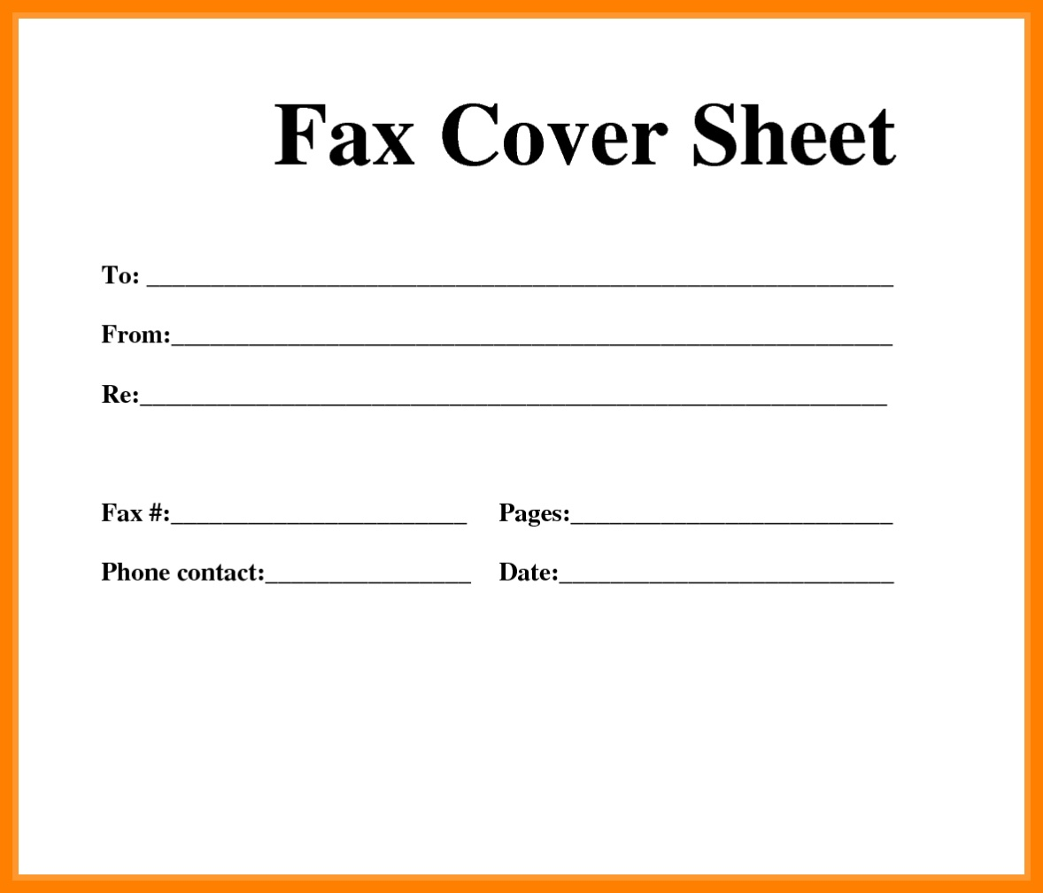 Printable Cover Sheet   Ellipsis - Free Printable Cover Letter For Fax