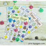 Printable Easter Bingo Game | Preschool Easter Theme | Easter Bingo   Free Printable Religious Easter Bingo Cards