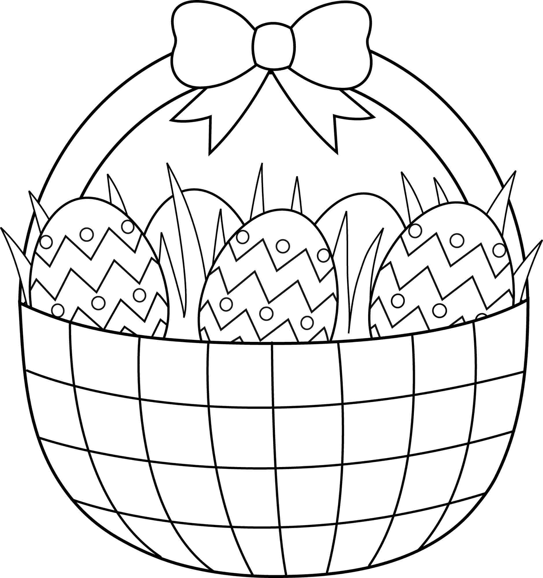 Printable Easter Coloring Pages Free Easter Coloring Pages Printable - Easter Coloring Pages Free Printable