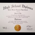 Printable Fake Ged Certificate For Free Excellent 6 Best Of High   Printable Fake Ged Certificate For Free
