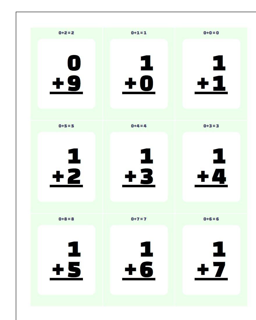 Printable Flash Cards - Free Printable Multiplication Flash Cards Pdf