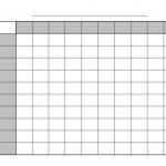 Printable Football Squares | Sports Printable | Superbowl Squares   Football Squares Printable Free
