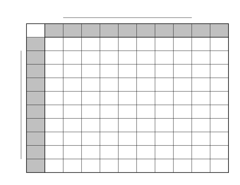 Printable Football Squares | Sports Printable | Superbowl Squares - Football Squares Printable Free