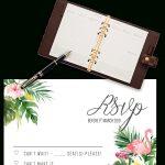 Printable Free Wedding Rsvp Template & Cards Microsoft Word   Free Printable Rsvp Cards