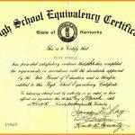 Printable Ged Certificate Blank Ged Certificate Awesome Printable   Free Printable Ged Certificate