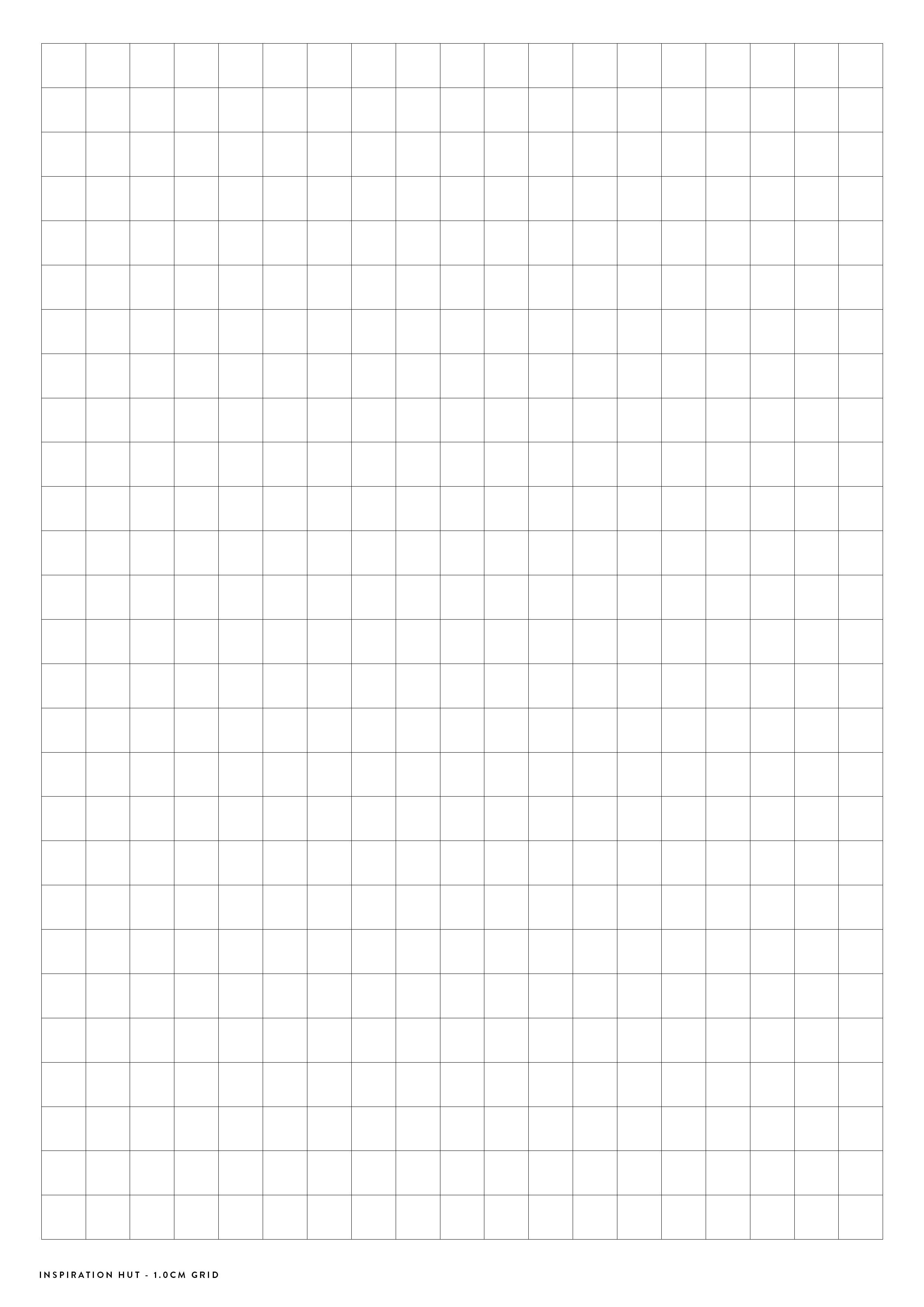 Printable Graph / Grid Paper Pdf Templates - Inspiration Hut - Free Printable Graph Paper