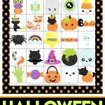 Printable Halloween Bingo Cards   This Halloween Bingo Game Is A Ton   Free Printable Halloween Bingo Cards