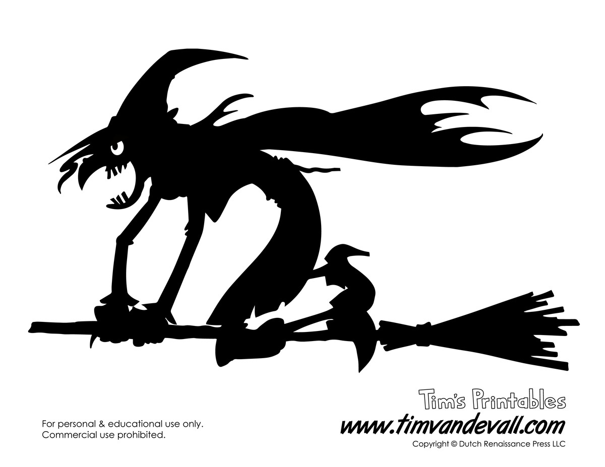 Printable Halloween Decorations Witch – Best Cool Craft Ideas - Free Printable Halloween Decorations