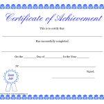Printable Hard Work Certificates Kids | Printable Certificate Of   Free Printable Certificates Of Accomplishment