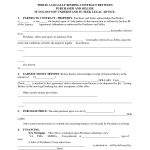 Printable Home Purchase Agreement | Free Printable Purchase   Free Printable Real Estate Contracts