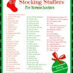 Printable Homeschool Stocking Stuffer Ideas | Hip Homeschool Moms   Free Printable Stocking Stuffers