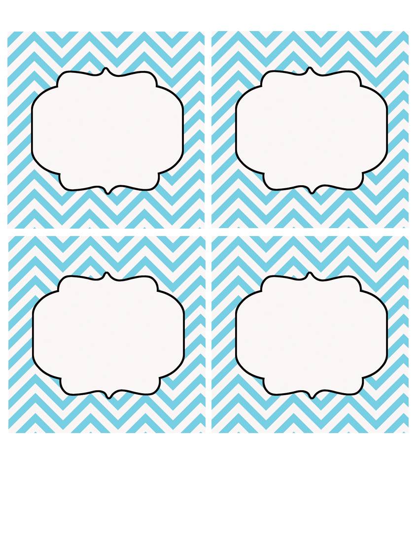 Printable Labels | {Free Printables & Fonts} | Printable Labels - Free Printable Chevron Labels