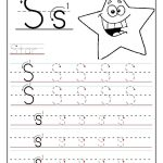Printable Letter S Tracing Worksheets For Preschool | For The   Free Printable Preschool Worksheets Tracing Letters