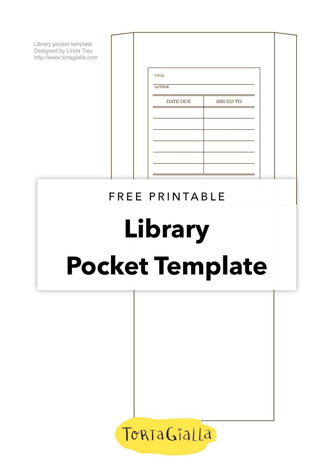 Printable Library Card Template - Free Download | Printables - Free Printable Card Templates