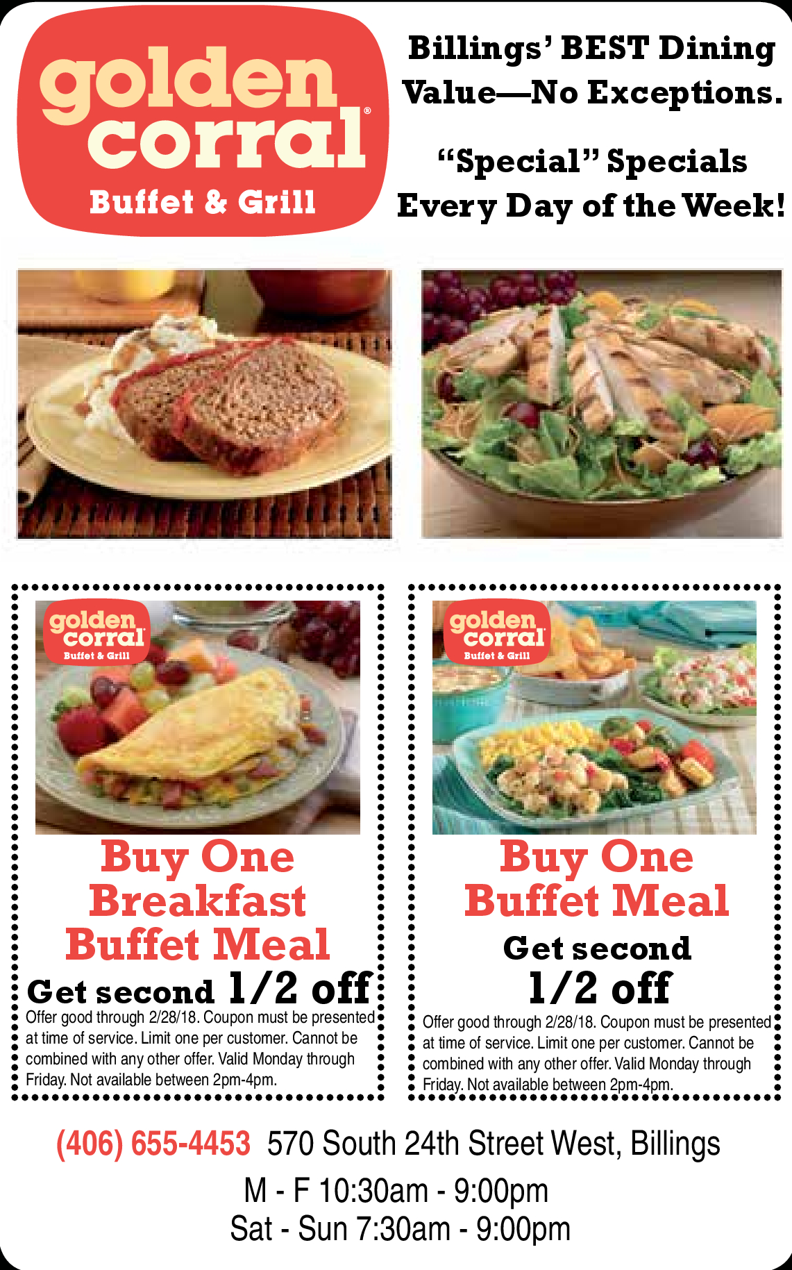 Printable Local Coupons, Free Restaurant Coupons Online - Hometown - Golden Corral Coupons Buy One Get One Free Printable