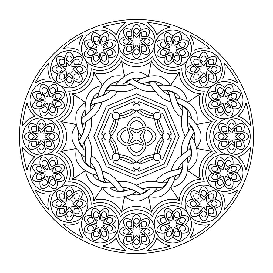 Printable Mandalas (The Boys Love To Color These) | Kids & Family - Free Printable Mandala Patterns