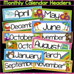 Printable Months Of The Year Labels Online Calendar Printable   Free Printable Months Of The Year Labels